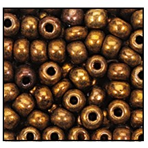 Seed Bead #2100 12/0 59145 Copper Metallic (1/2 Kilo) - CLEARANCE