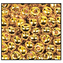 Seed Bead #2100 11/0 68304 24K Gold Metallic (1 Hank)
