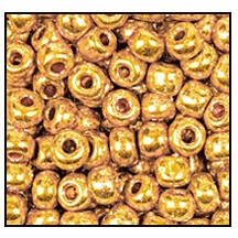 Seed Bead #2100 11/0 68388 Bright Gold Metallic (1/2 Kilo)