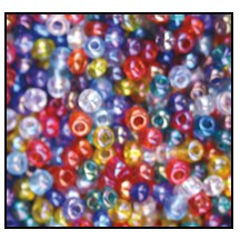 Seed Bead #2100 10/0 Mix #20 (1/2 Kilo) - CLEARANCE