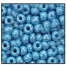 Seed Bead #2100 11/0 68020 Turquoise Opaque Luster (1/2 Kilo)