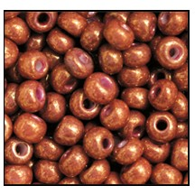 Seed Bead #2100 6/0 46095 Rusty Copper Opaque (1/2 Kilo)