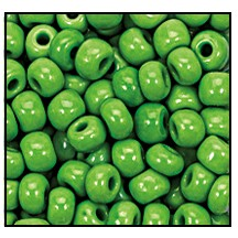 Seed Bead #2100 10/0 53230 Light Green Opaque (1/2 Kilo)