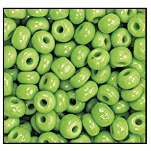 Seed Bead #2100 9/0 53310 Avocado Opaque (1/2 Kilo)