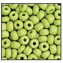 Seed Bead #2100 12/0 53410 Lime Opaque (1/2 Kilo)