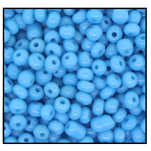 Seed Bead #2100 6/0 63030 Medium Turquoise Opaque (1/2 Kilo)