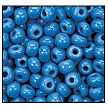Seed Bead #2100 10/0 63080 Blue Turquoise Opaque (1/2 Kilo) (LOOSE) - CLEARANCE