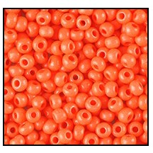 Seed Bead #2100 10/0 16A91 Terra Intensive Orange (1/2 Kilo)