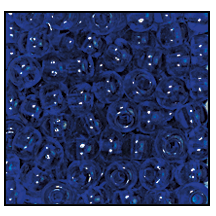 Seed Bead #2100 12/0 30100 Cobalt Transparent (1/2 Kilo) - CLEARANCE