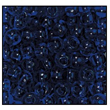 Seed Bead #2100 10/0 30110 Deep Cobalt Transparent (1/2 Kilo)