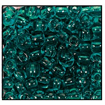 Seed Bead #2100 14/0 50710 Blue Zircon Transparent (1/2 Kilo) - CLEARANCE