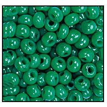 Seed Bead #2100 8/0 52240 Green Opal Transparent (1/2 Kilo) - CLEARANCE