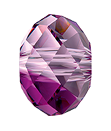 Swarovski 5040 Briolette Bead 6mm Amethyst Blend (360 Pieces)
