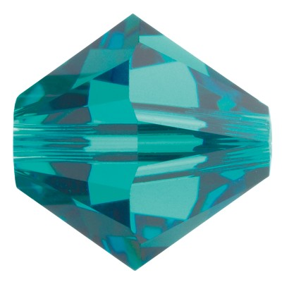 Swarovski 5328 Bicone Bead 3mm Blue Zircon