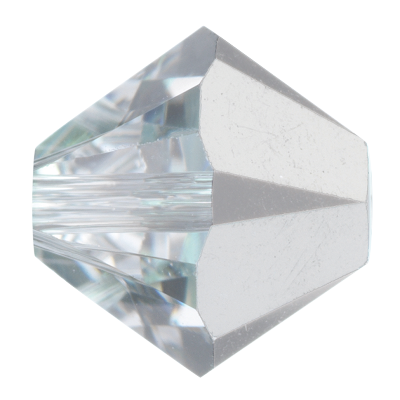 Swarovski 5328 Bicone Bead 6mm Crystal Comet Argent Light