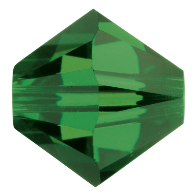 Swarovski 5328 Bicone Bead 4mm Fern Green