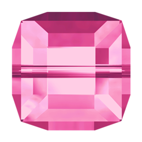 Swarovski 5601 Cube Bead 4mm Rose (288 Pieces)