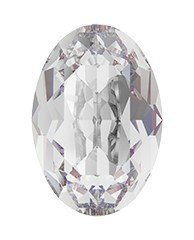 Swarovski 4120 Oval Fancy Stone 8x6mm Crystal (180 Pieces)