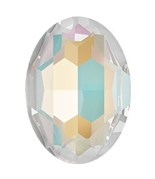 Swarovski 4127 Large Oval Fancy Stone 30x22mm Crystal Light Grey DeLite