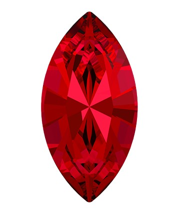 Swarovski 4228 Xilion Navette Fancy Stone 10x5mm Scarlet (360 Pieces)