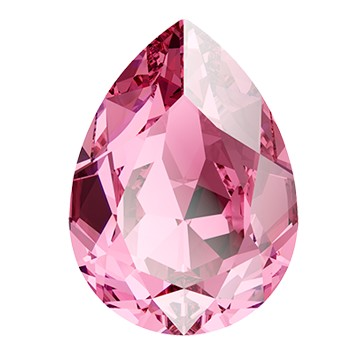 Swarovski 4320 Pear Fancy Stone 4x2.9mm Rose (720 Pieces)