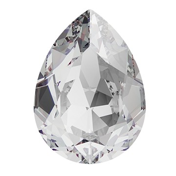 Swarovski 4320 Pear Fancy Stone 8x6mm Crystal (180 Pieces)
