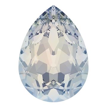 Swarovski 4320 Pear Fancy Stone 14x10mm White Opal (144 Pieces)