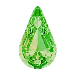 Swarovski 4328 Xilion Pear Fancy Stone 10x6mm Peridot (144 Pieces)