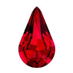 Swarovski 4328 Xilion Pear Fancy Stone 10x6mm Scarlet (144 Pieces)