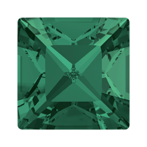 Swarovski 4428 Xilion Square Fancy Stone 5mm Emerald (360 Pieces)