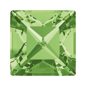 Swarovski 4428 Xilion Square Fancy Stone 8mm Peridot (144 Pieces)