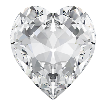 Swarovski 4831 Antique Heart Fancy Stone 5.5x5mm Crystal (360 Pieces)