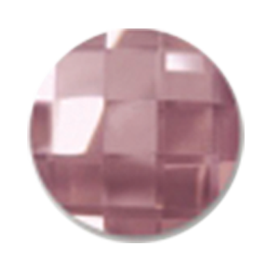 Swarovski 2035 Chessboard Circle Flatback Rhinestones 20mm Crystal Antique Pink