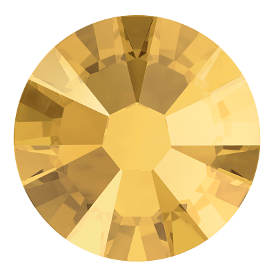 682b4180b94f Swarovski 2038 Hot Fix Rhinestones Metallic Sunshine SS6