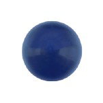 Swarovski 5818 Crystal 1/2 Drilled Round Pearl 10mm Dark Lapis (100 Pieces)