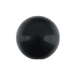 Swarovski 5818 Crystal 1/2 Drilled Round Pearl 12mm Mystic Black (100 Pieces)