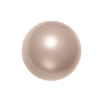 Swarovski 5810 Crystal Round Pearl 4mm Powder Almond
