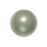 Swarovski 5810 Crystal Round Pearl 12mm Powder Green