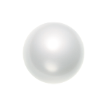 Swarovski 5817 Crystal Cabochon Pearl 10mm White (250 Pieces)