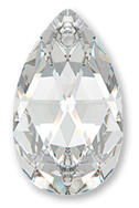 Swarovski 6106 Pear Pendant 16mm Crystal