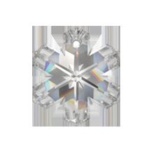 62ddd0268feb5 Swarovski 6704 Snowflake Pendant 25mm (Crystal)