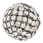 Swarovski Mesh Ball 40519 19mm Crystal Silver Shade (1 Piece) - CLEARANCE