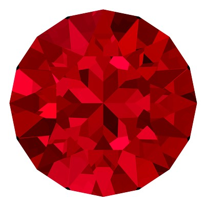 Swarovski 1028 Xilion Pointed Back Chaton PP 3 Scarlet (1,440 Pieces)