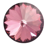 Swarovski 1122 Rivoli SS47 Crystal Antique Pink