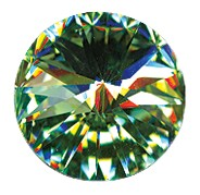 Swarovski 1122 Rivoli 12mm Chrysolite