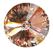 Swarovski 1122 Rivoli SS47 Light Peach
