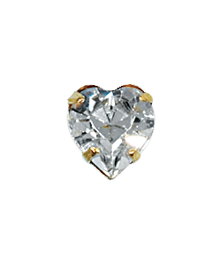 Swarovski 12204 Heart Single Stone Setting