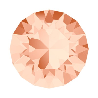Swarovski 1088 Xirius Pointed Back Chaton PP18 Light Peach